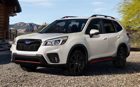 2019 Subaru Forester Sport (US) - Wallpapers and HD Images
