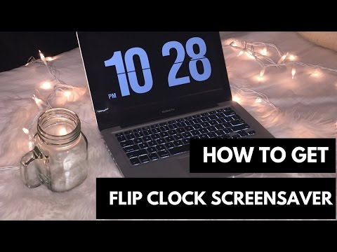 How to Turn Your PC into a Flip Clock