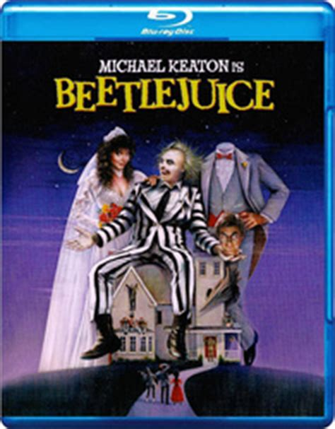 Beetlejuice Blu-ray: 20th Anniversary Deluxe Edition