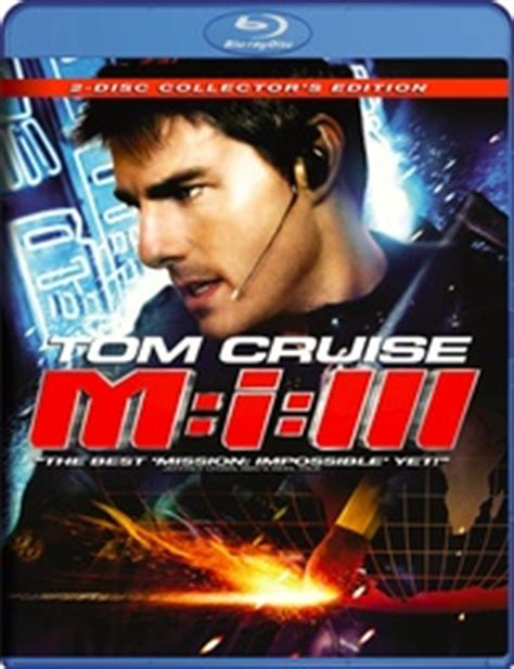 Mission: Impossible III Blu-ray Release Date October 30