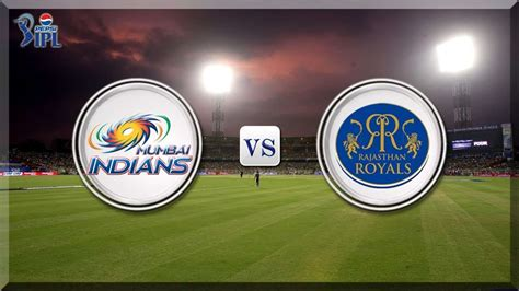 Watch MI vs RR Live Online for completely Free!