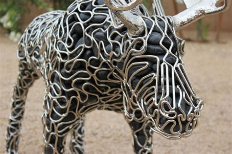 Artist Creates Incredible Sculptures Made from Metal and
