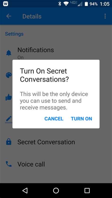 How to enable end-to-end encryption on Facebook Messenger