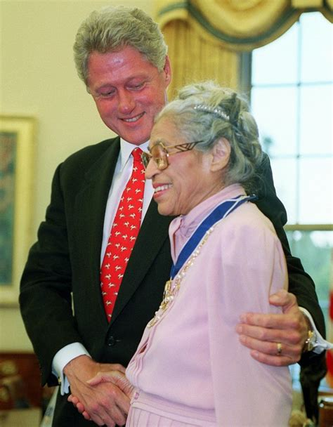 Remembering Rosa Parks: Words of wisdom from 'mother of